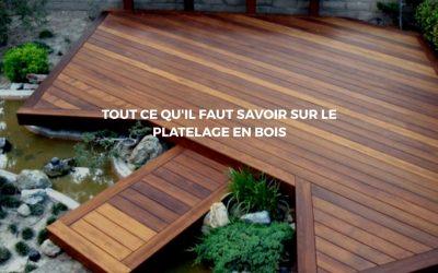 Installer une terrasse en bois pour orner son espace extérieur