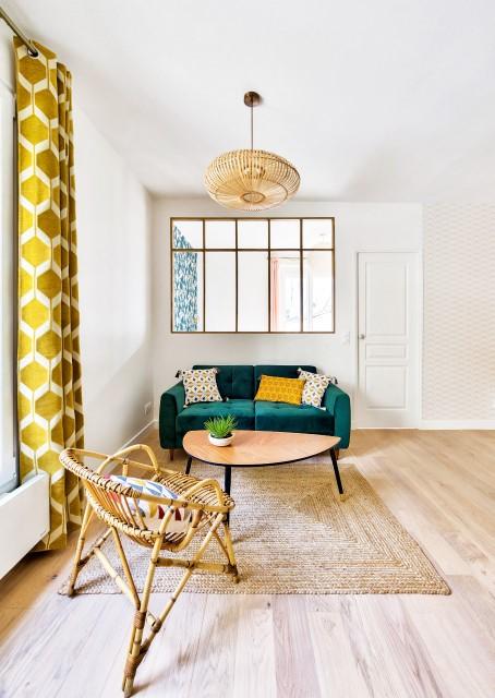 intérieur maison simple