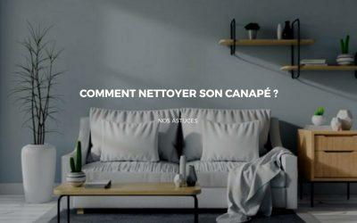 Nettoyer son canapé en tissu sans risquer de l'abimer