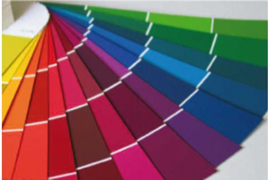 gamme de couleur